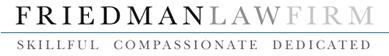 Friedman Law Firm Logo